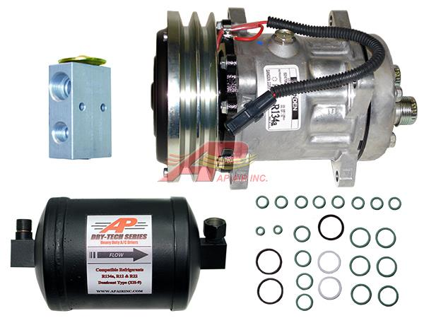 890-5601 - ***Complete compressor replacement Kit***, includes OEM Compressor, Drier, Exp Valve and O-rings.