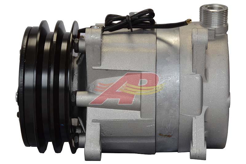 502-008 - Compressor Original - Delphi / Harrison V5, 2 Grooves, 12v
