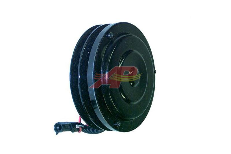 600-97153 - Compressor Clutch Aftermarket - Sanden SD7H15, 2 Grooves, 152mm, 12 Volt