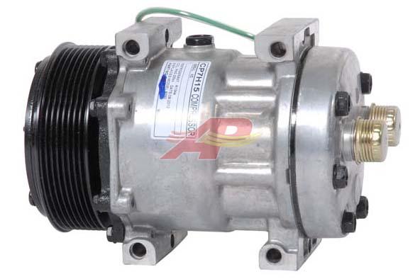 509-59843 - Compressor Aftermarket - Sanden SD7H15, 24v