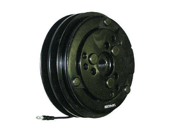 600-9005 - Compressor Clutch - Sanden SD508 / SD510 / SD5H14, 2 Grooves, 132mm, 12v