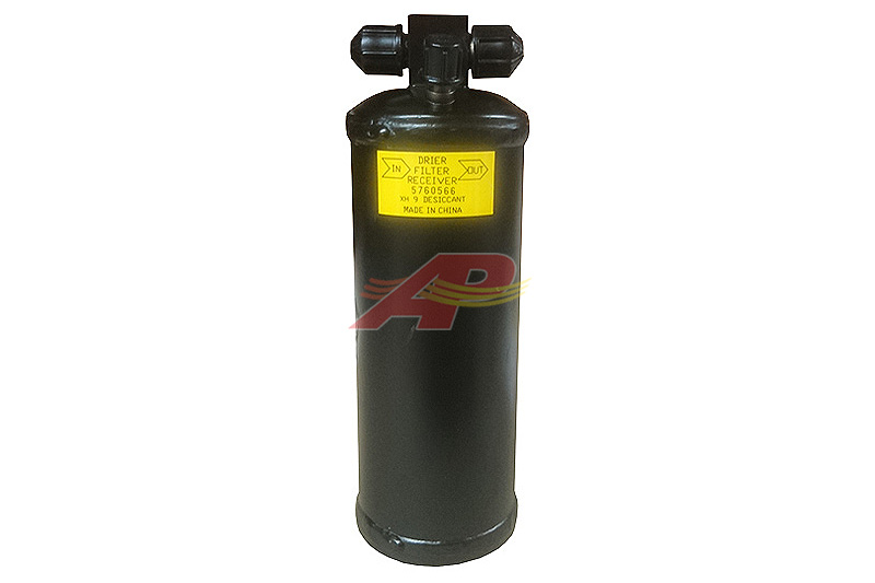 803-302 - Receiver Drier - 76mm x 241mm - #6 Male Flare x #6 Male Flare