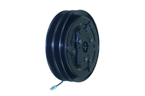 600-6692 - Compressor Clutch - Seltec TM08 / TM13 / TM15 / TM16, 2 Grooves, 12v