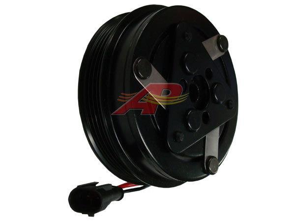 600-9716 - Compressor Clutch - Sanden SD7H15, 4 Grooves, 112mm, 12v