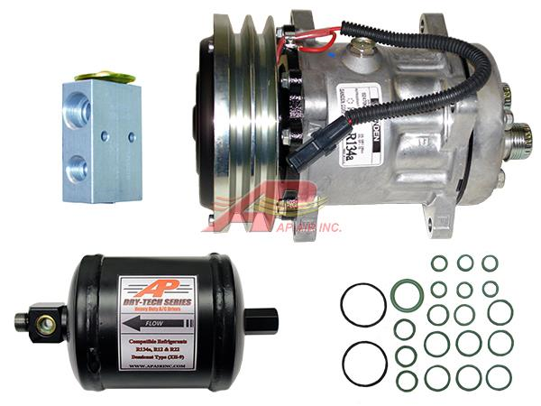 890-5602 - ***Complete compressor replacement Kit***, includes OEM Compressor, Drier, Exp Valve and O-rings.