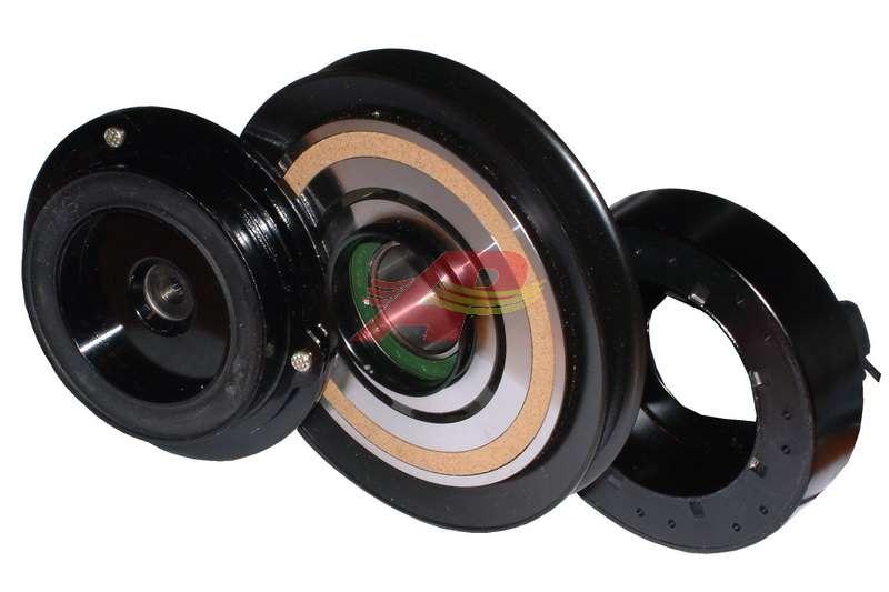 600-3006 - Compressor Clutch - Denso 10PA15C, Single Groove, 12v