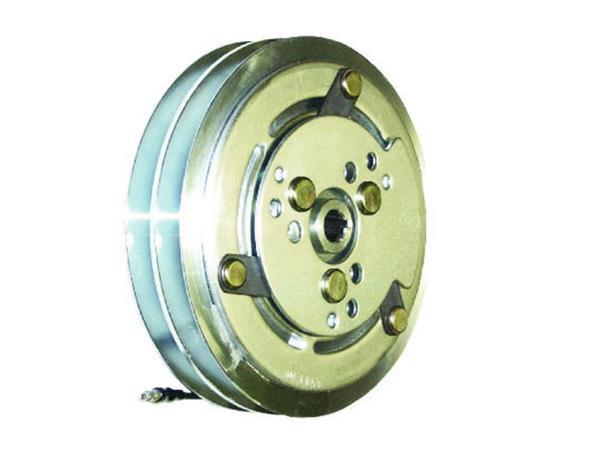 600-9006 - Compressor Clutch - Sanden SD508 / SD510 / SD5H14, 2 Grooves, 152mm, 12v