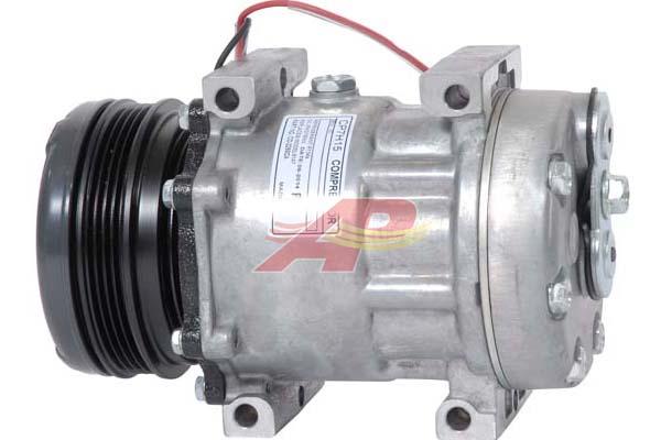 509-6393 - Compressor Aftermarket - Sanden SD7H15, 12v