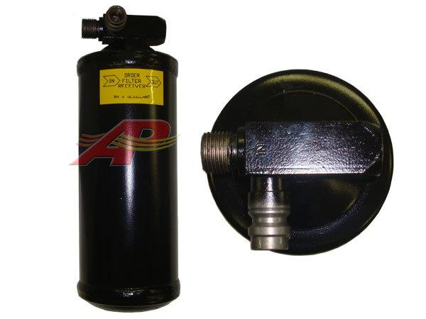 803-3714 - Receiver Drier - 76mm x 228mm - #6 Male O-Ring, Inlet x #6 Female O-Ring, Outlet