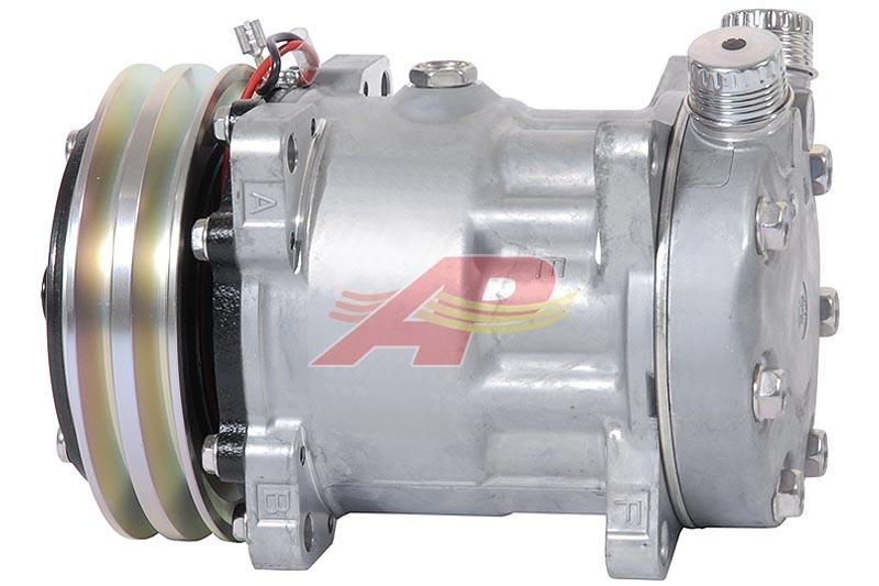 509-55523 - Compressor Aftermarket - Sanden SD7H15, 12v