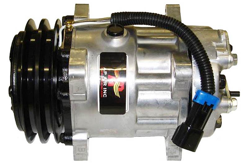509-6153 - Compressor Aftermarket - Sanden SD7H15, 12v