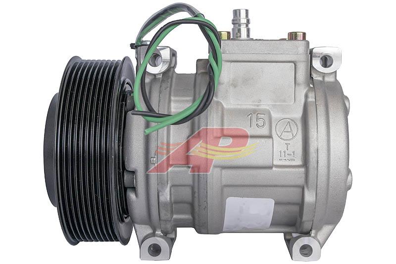 503-12143 - Compressor Aftermarket, Denso 10PA15C, 9 Grooves, 24v