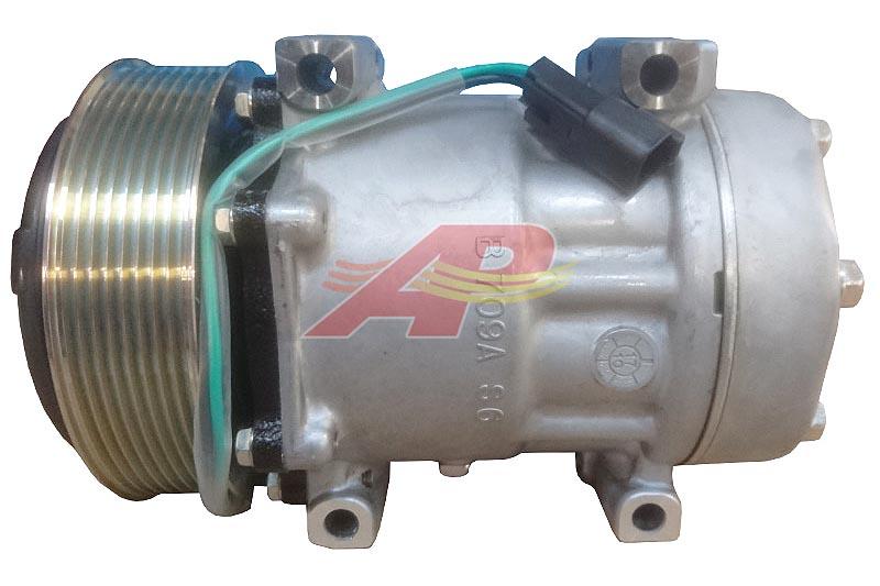 509-61884 - Compressor Original - Sanden SD7H15, 8 Grooves, 24v