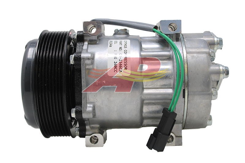 509-618843 - Compressor Aftermarket - Sanden SD7H15, 8 Grooves, 24v