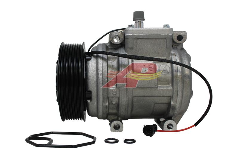 503-1229 - Compressor Original, Denso 10PA15C, 8 Grooves, 24v