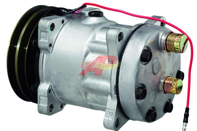 509-55013 - Compressor Aftermarket - Sanden SD7H15, 12v