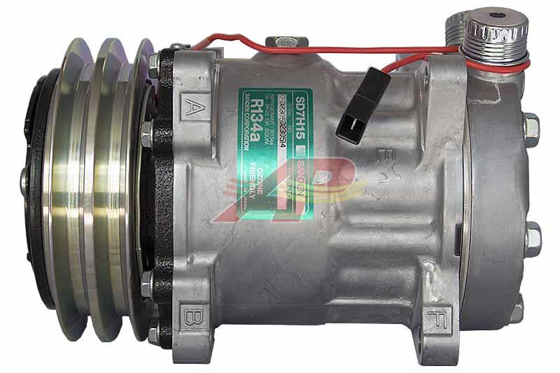 509-555 - Compressor Original - Sanden SD7H15, 12v