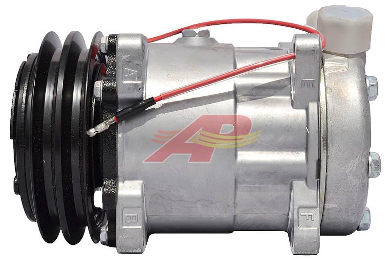 509-5553 - Compressor Aftermarket - Sanden SD7H15, 12v